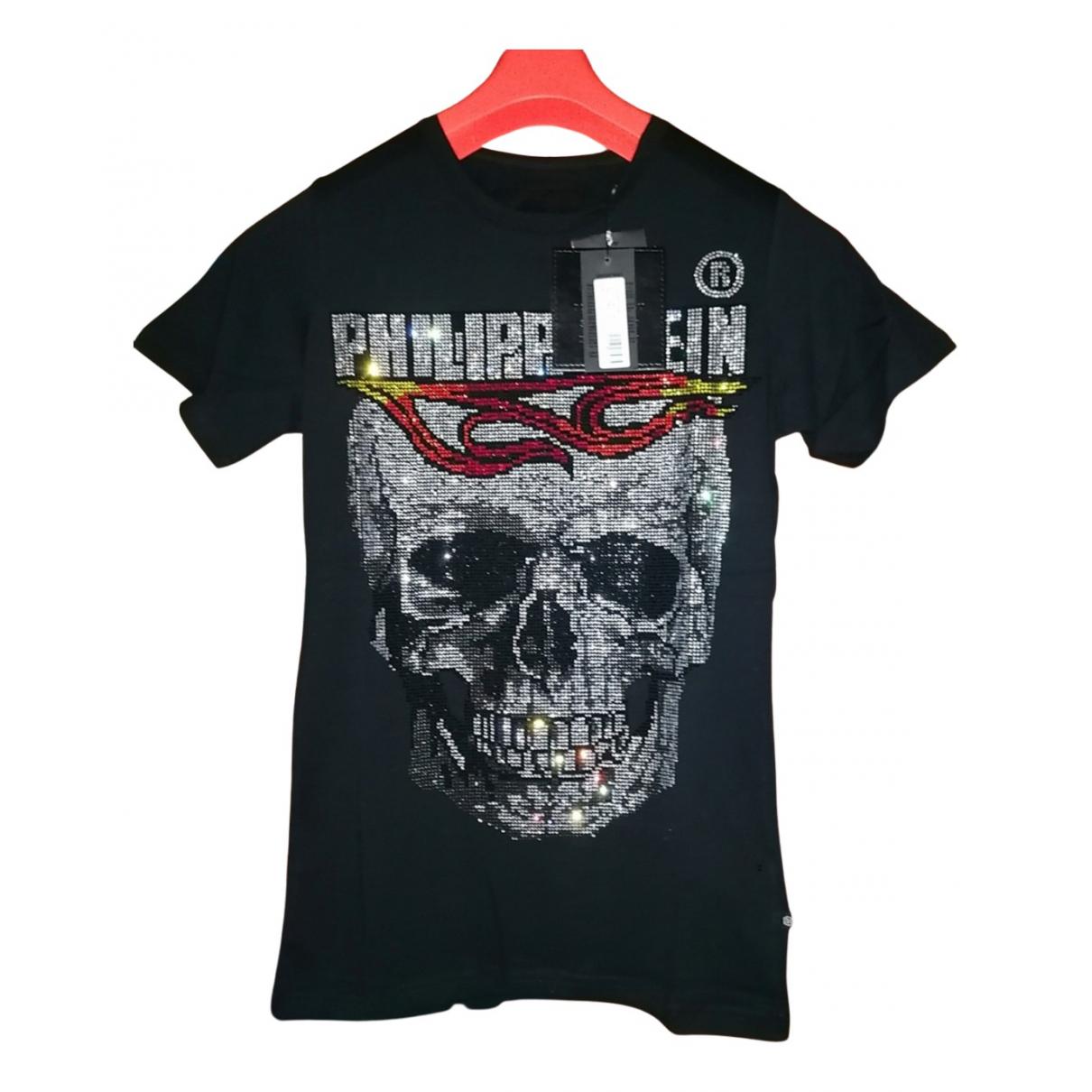 Philipp Plein N Black Cotton T-shirts for Men S International