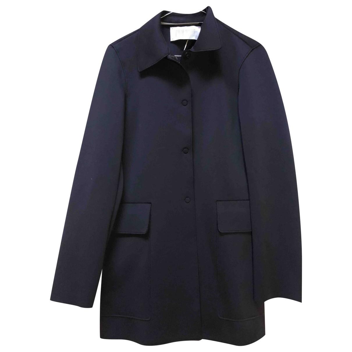 Harris Wharf London - Manteau   pour femme - noir