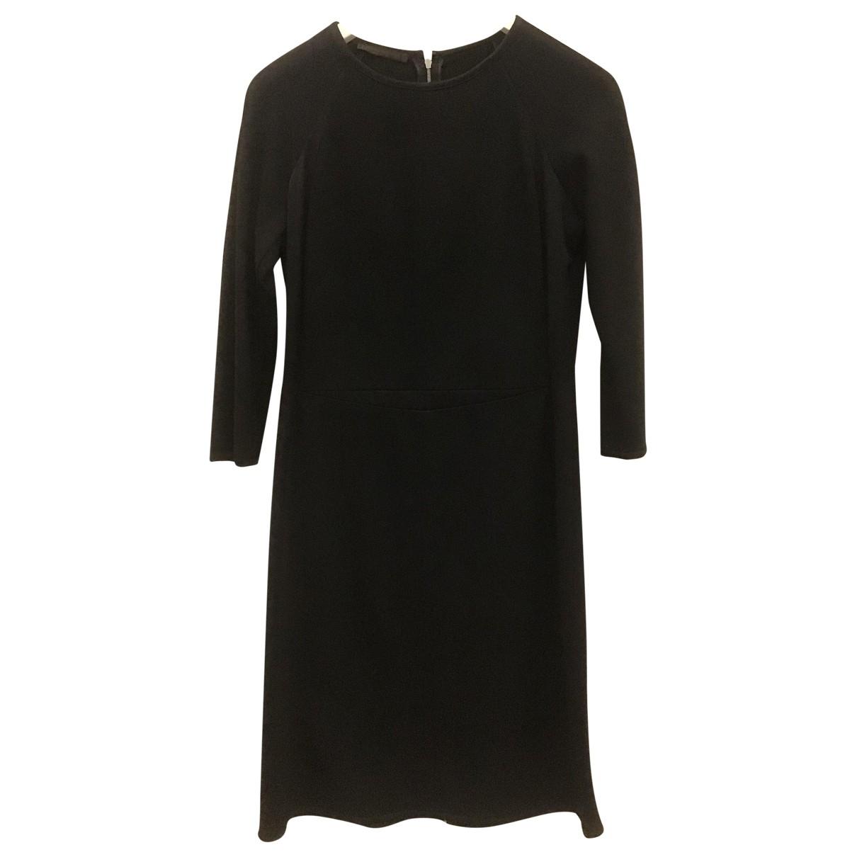 Narciso Rodriguez \N Kleid in  Schwarz Wolle