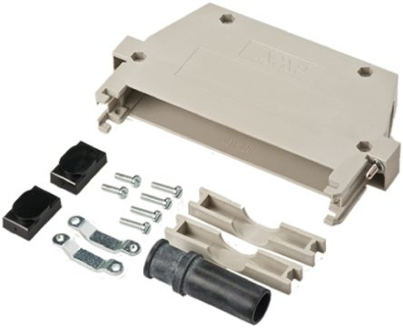 TE Connectivity Type F Series Cable Hood Kit for use with Type F Eurocard Connector