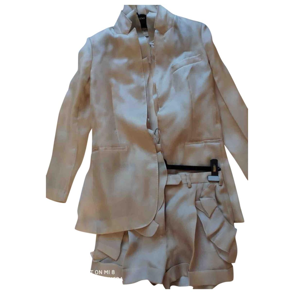Valentino Garavani - Combinaison   pour femme en soie - beige