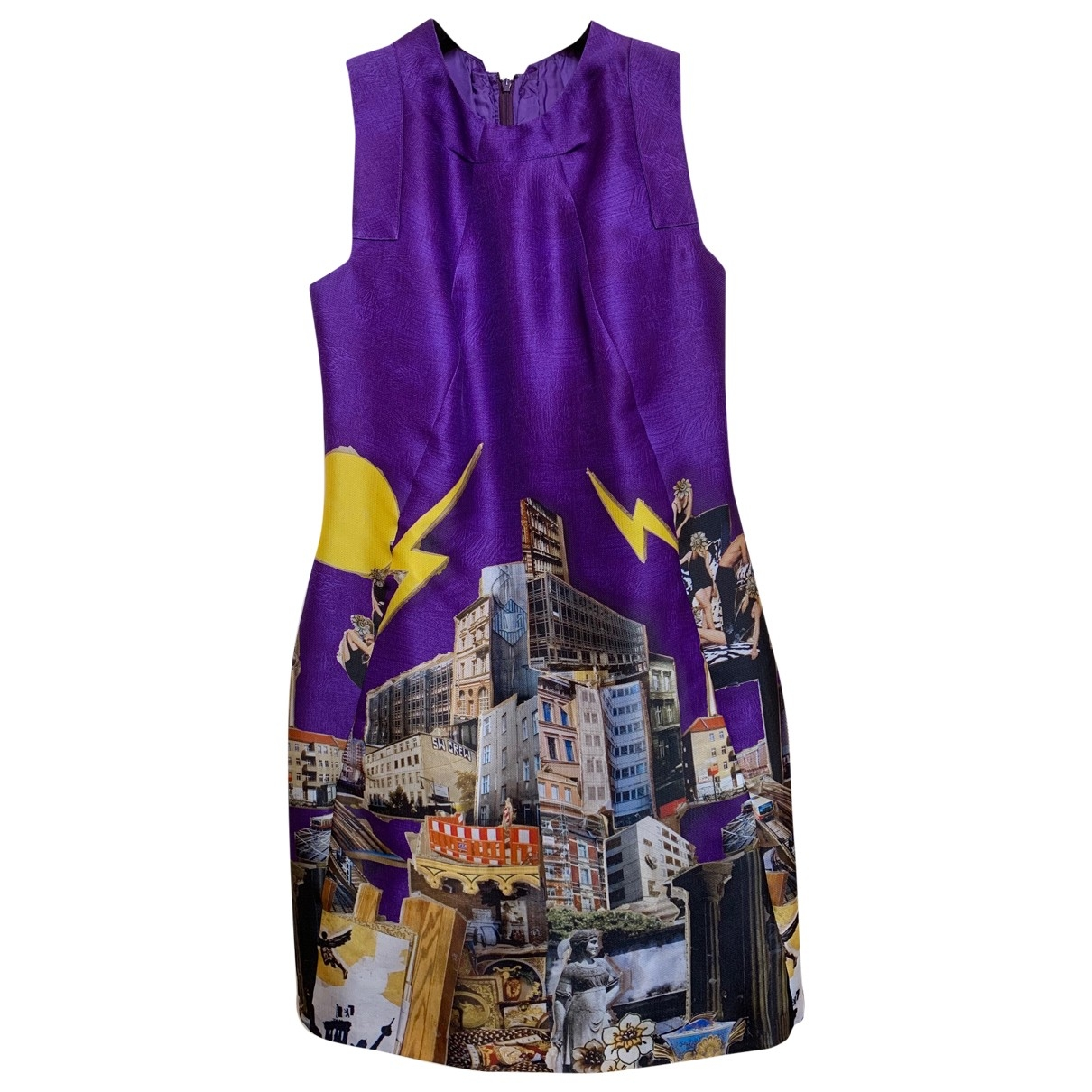Versace \N Multicolour Silk dress for Women S International