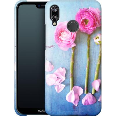 Huawei P20 Lite Smartphone Huelle - Cottage Flowers von Joy StClaire