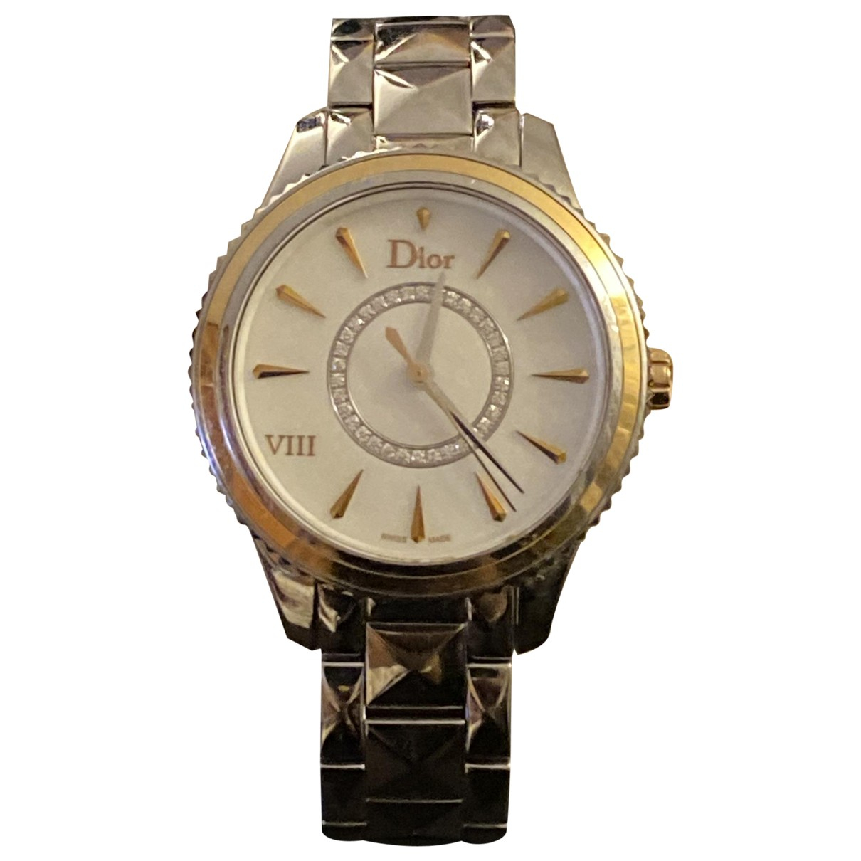 Dior Dior VIII Uhr in  Silber Stahl