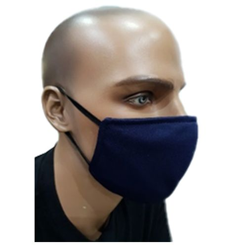 Plain Cloth Face Mask for Adult - Navy