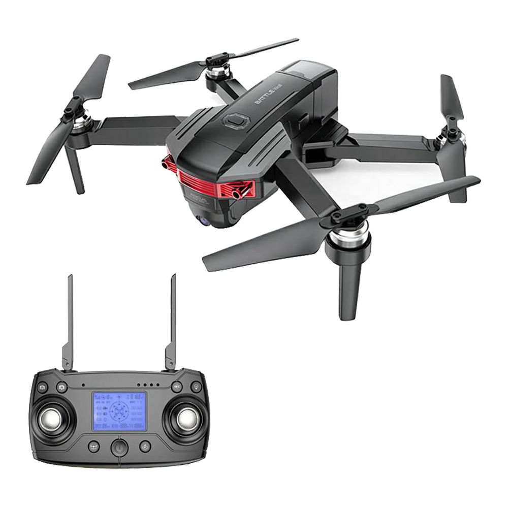 X46G 4K 5G WIFI FPV GPS Brushless Foldable RC Drone Adjustable Wide-angle Camera Optical Flow Positioning RTF - Black