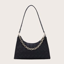 Braided Chain Shoulder Bag