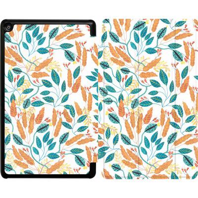Amazon Fire HD 8 (2017) Tablet Smart Case - Wild Leaves von Iisa Monttinen