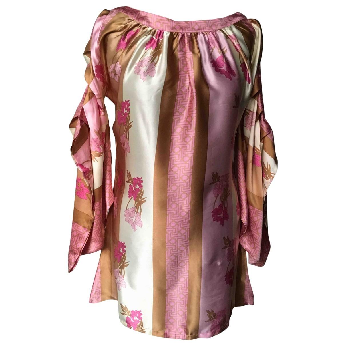 Lolita Jaka - Robe   pour femme en soie - multicolore