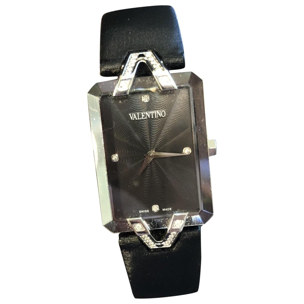 Valentino Garavani \N Uhr in  Schwarz Stahl
