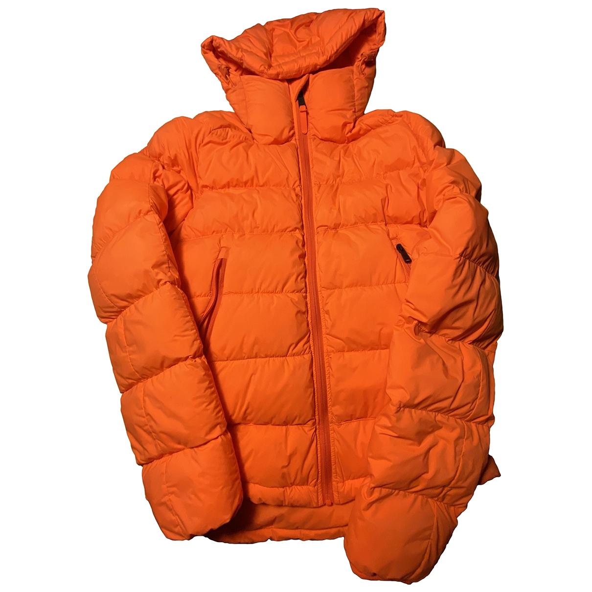 Napapijri \N Jacke in  Orange Polyester