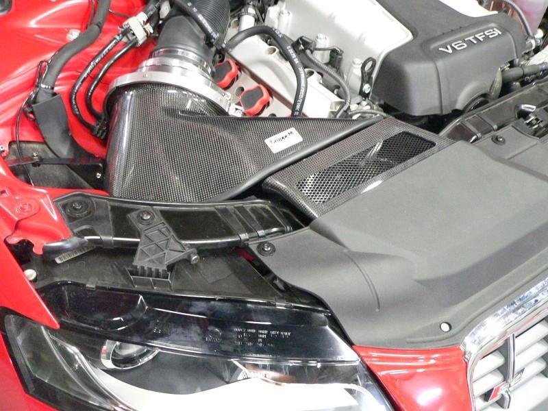 GruppeM FRI-0207 Carbon Fiber Ram Air Intake System Audi S4   S5 09-17