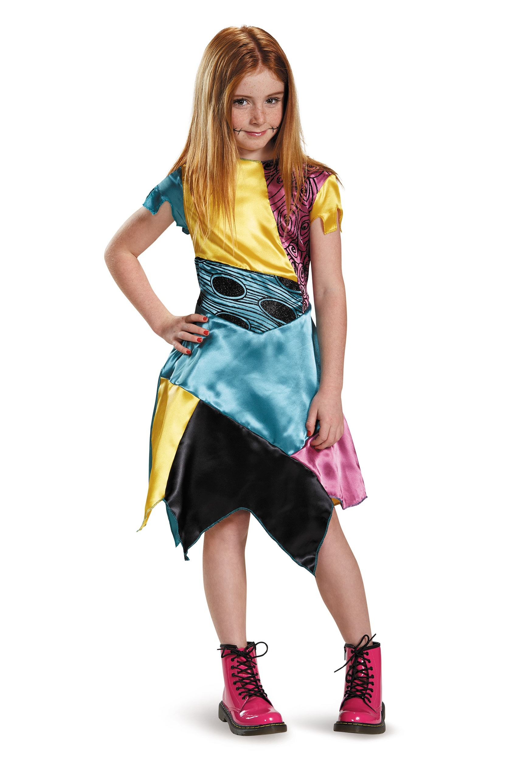 Girls Sally Costume