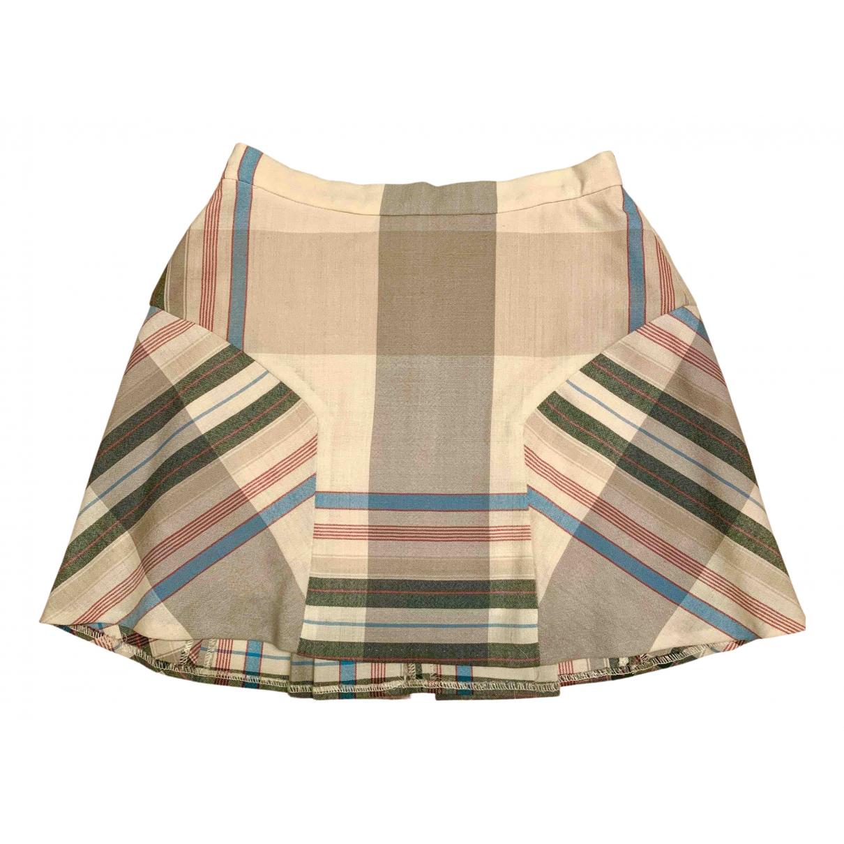 Vivienne Westwood - Jupe   pour femme en laine - multicolore