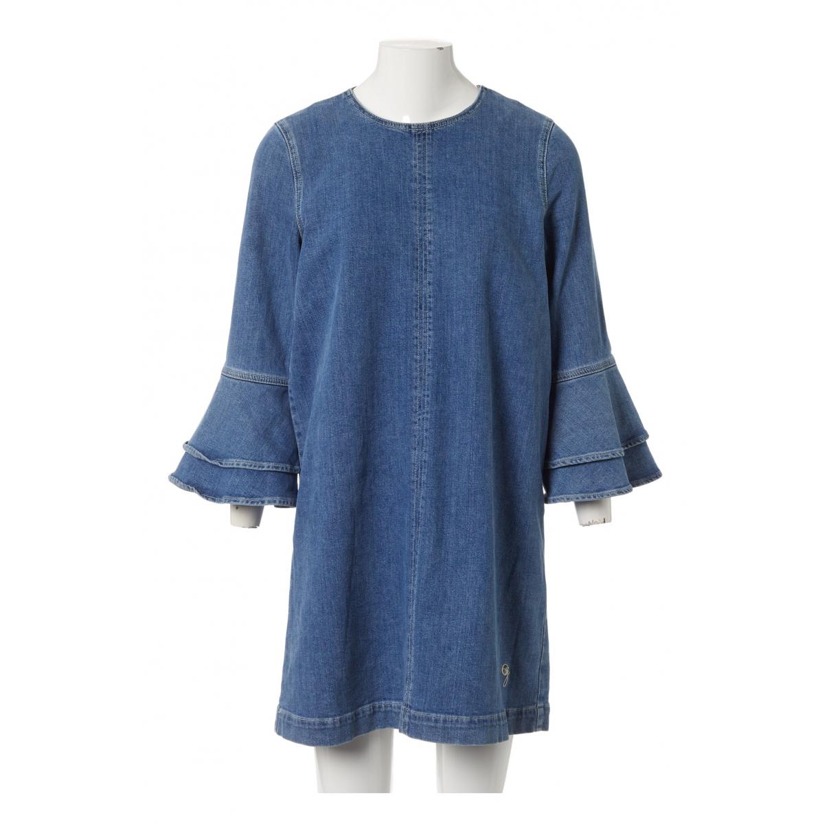 Ganni N Blue Cotton dress for Women 38 FR