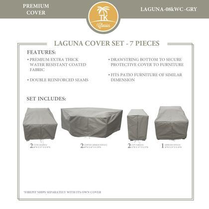 LAGUNA-08kWC-GRY Protective Cover Set  for LAGUNA-08k in