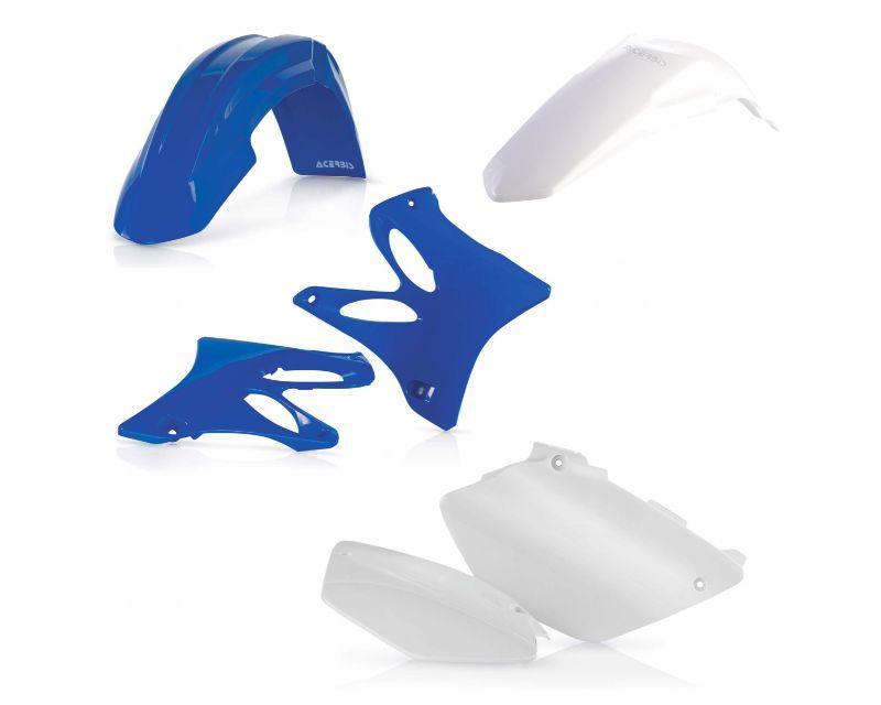 Acerbis 2044703914 Plastic Kit White/Blue Yamaha YZ125 06-14