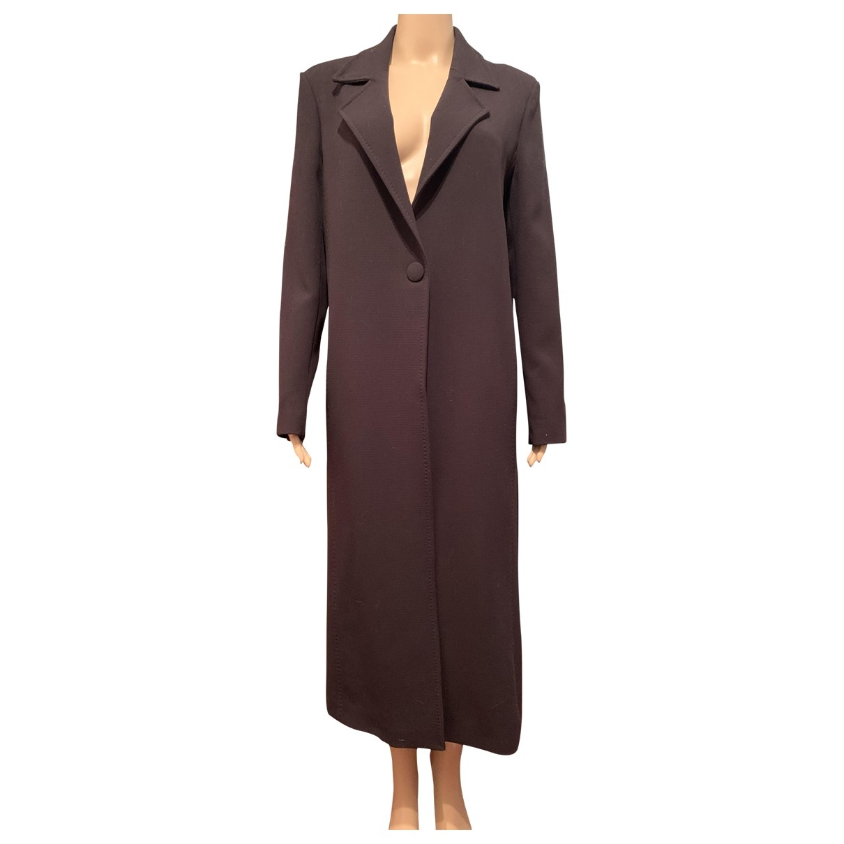 Moschino Cheap And Chic \N Black coat for Women 42 FR