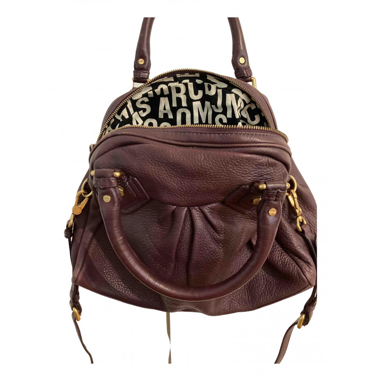 Marc By Marc Jacobs \N Purple Leather handbag for Women \N