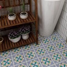 10sheets Geometric Pattern Tile Sticker