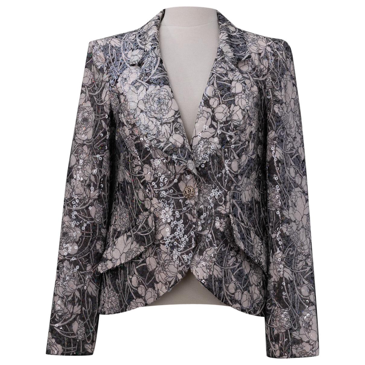 Chanel N Grey jacket for Women 40 FR
