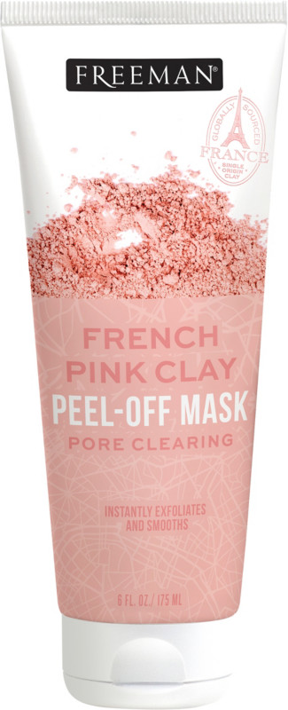 French Pink Clay Peel-Off Mask