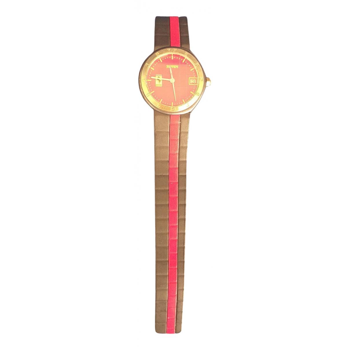Cartier N Red Steel watch for Women N