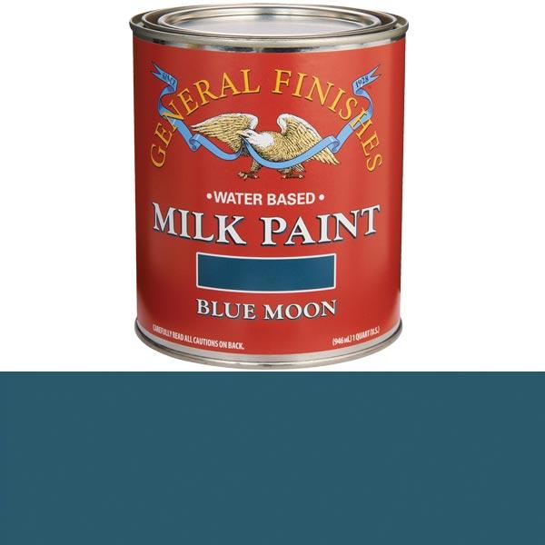 Blue MoonMilk Paint Water Based Quart