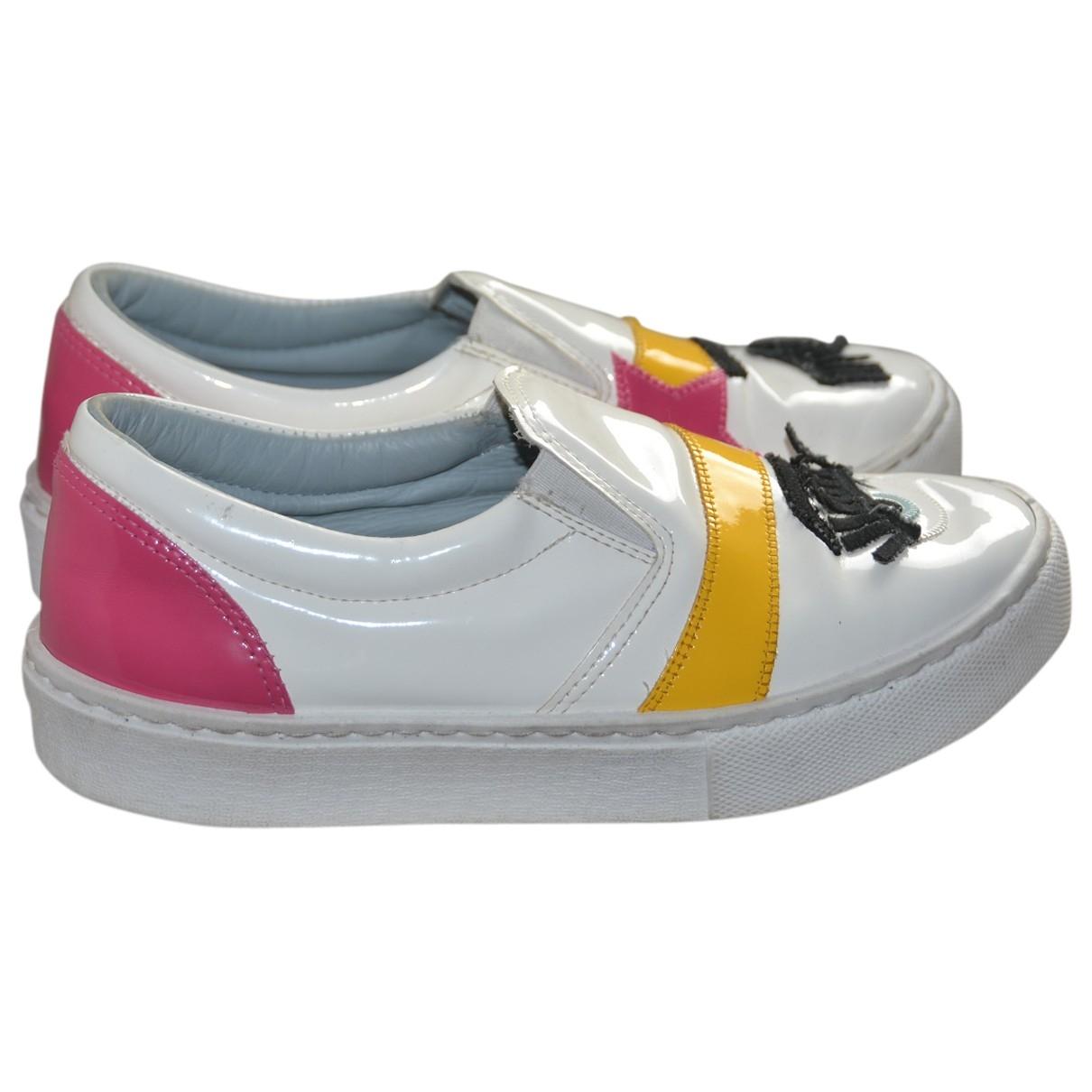 Chiara Ferragni \N Sneakers in  Bunt Lackleder
