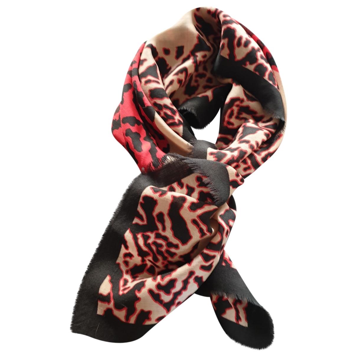 Jean-louis Scherrer \N Red Cotton scarf for Women \N
