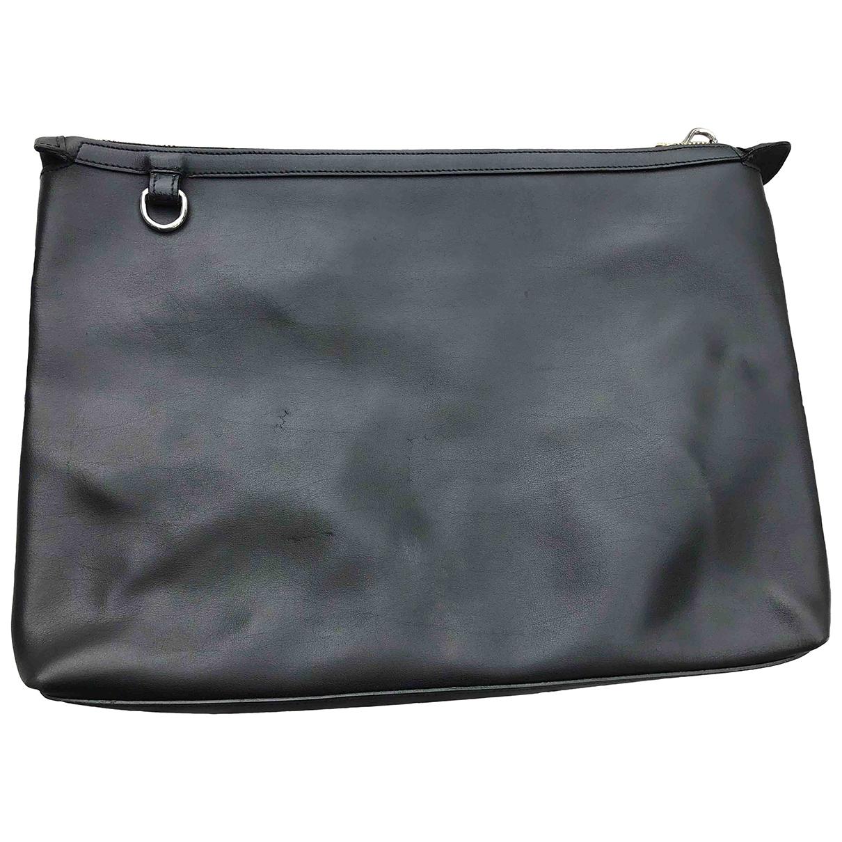 Little Liffner \N Handtasche in  Schwarz Leder