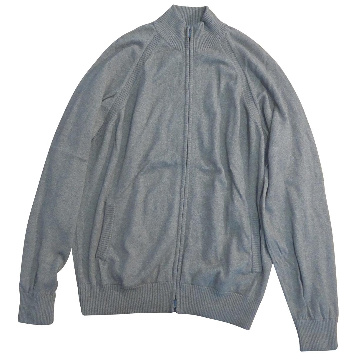 Loro Piana \N Pullover.Westen.Sweatshirts  in  Grau Kaschmir