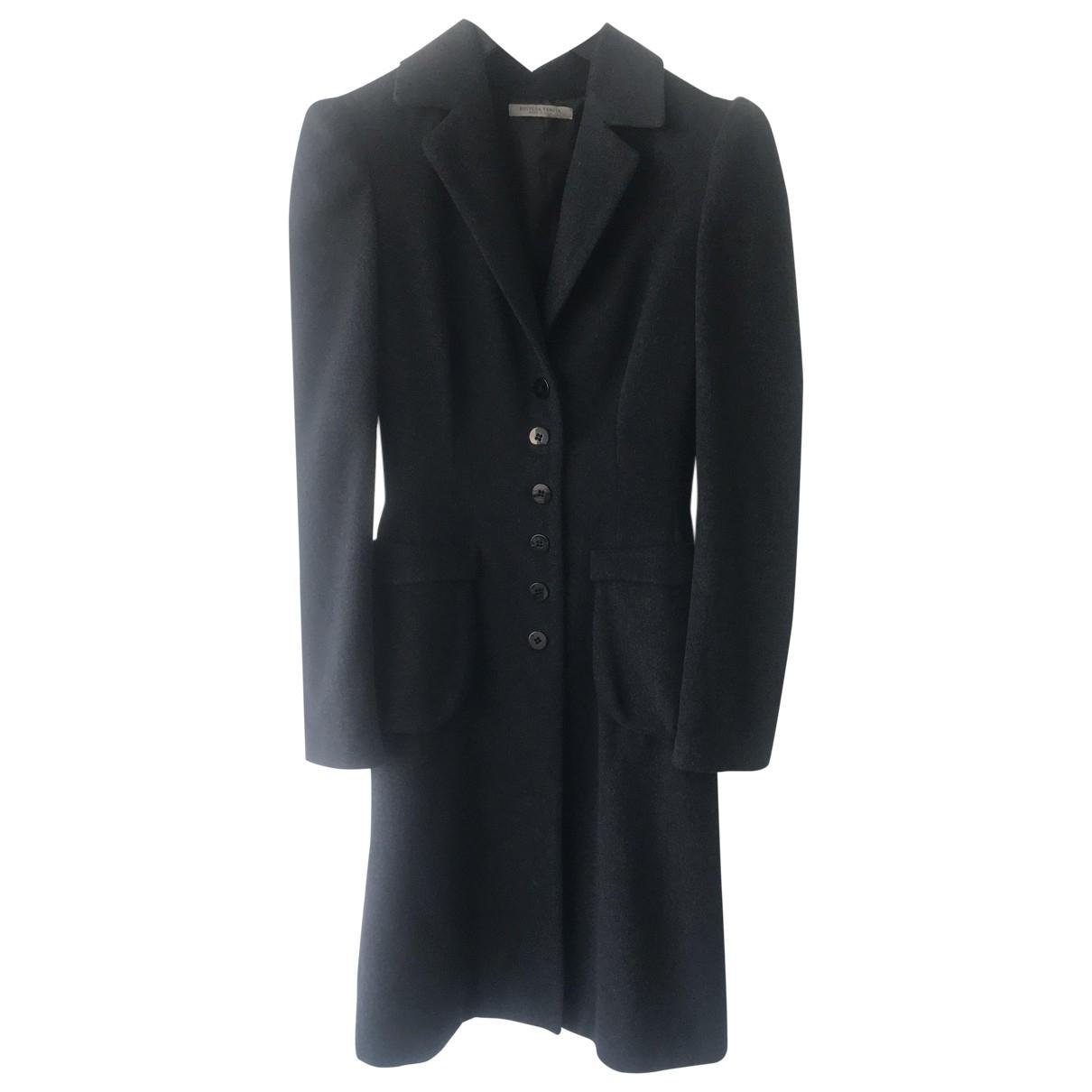 Bottega Veneta - Manteau   pour femme en laine - gris
