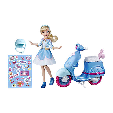 Hasbro Disney Princess Comfy Squad Cinderella'S Sweet Scooter, One Size , No Color Family
