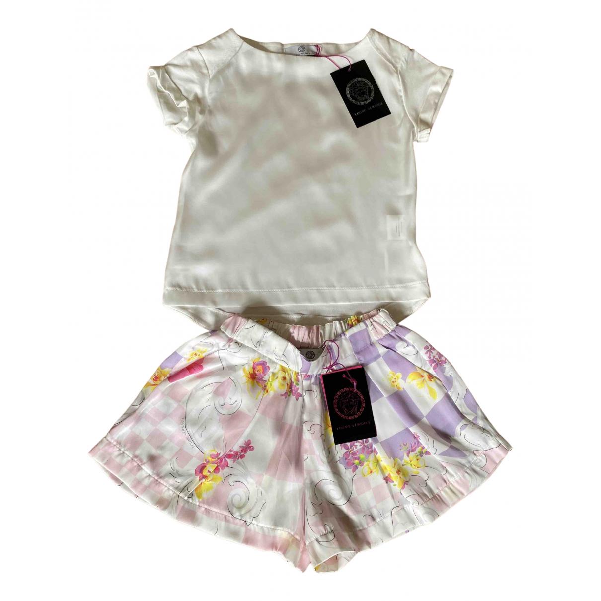 Versace - Les ensembles   pour enfant en coton - multicolore