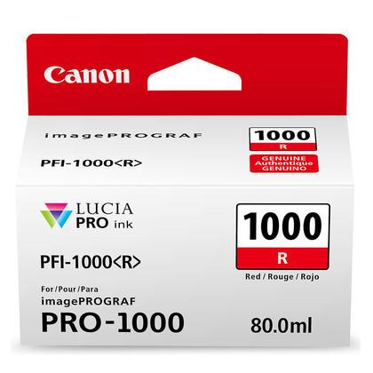 Canon PFI-1000R Original Red Ink Cartridge (0554C002)