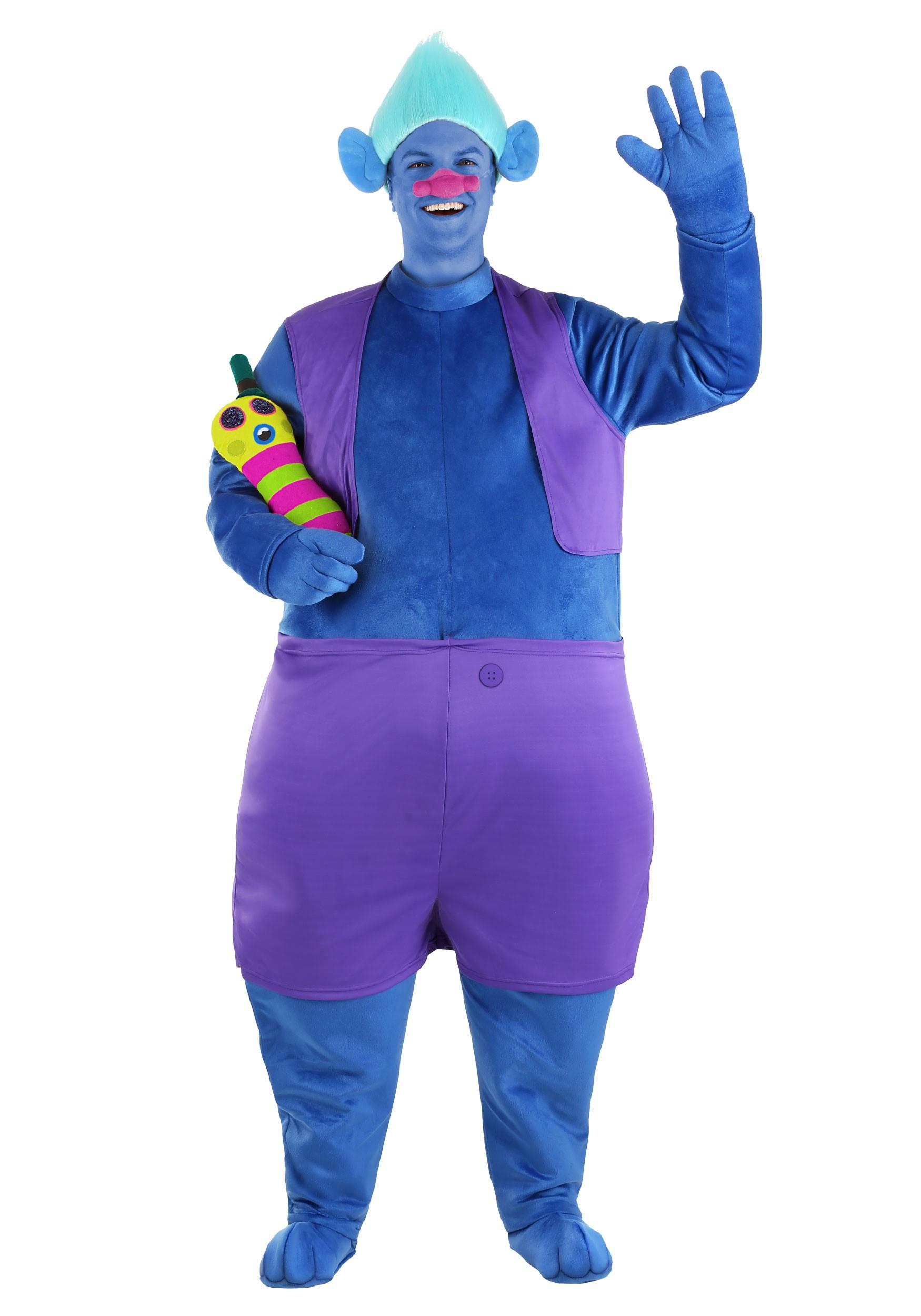 Trolls Adult Biggie Costume