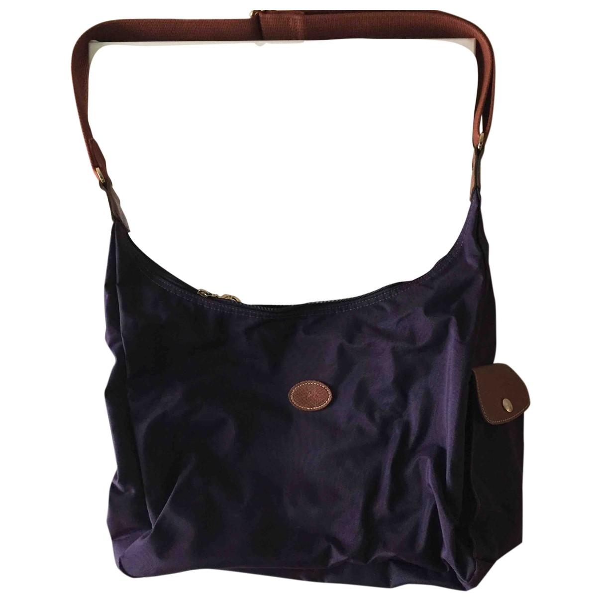Longchamp - Sac de voyage Pliage  pour femme - violet