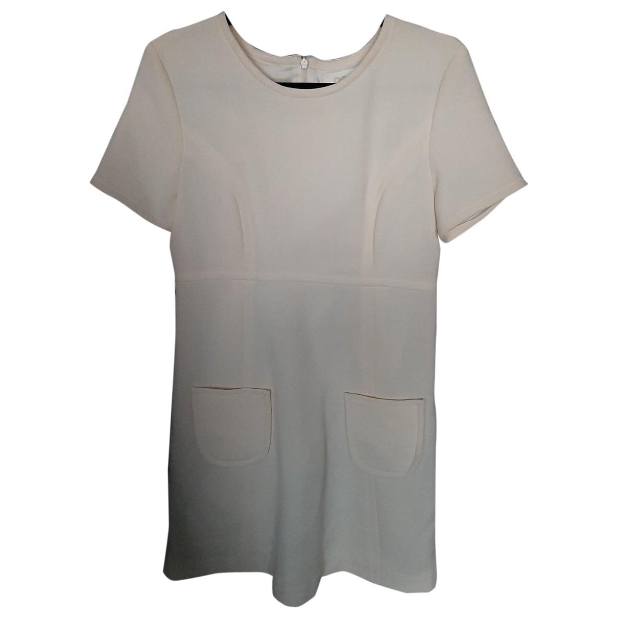 Goat - Robe   pour femme en laine - ecru