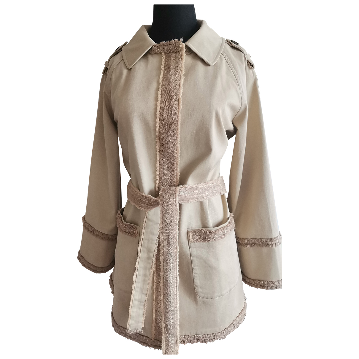 D&g N Beige Cotton jacket for Women 38 FR