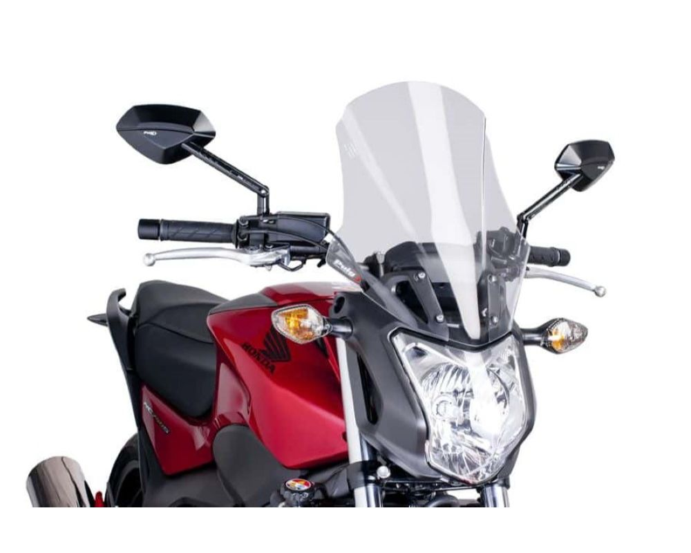 Puig 6361W Touring Plus Windscreen - Clear Honda NC700S 2012