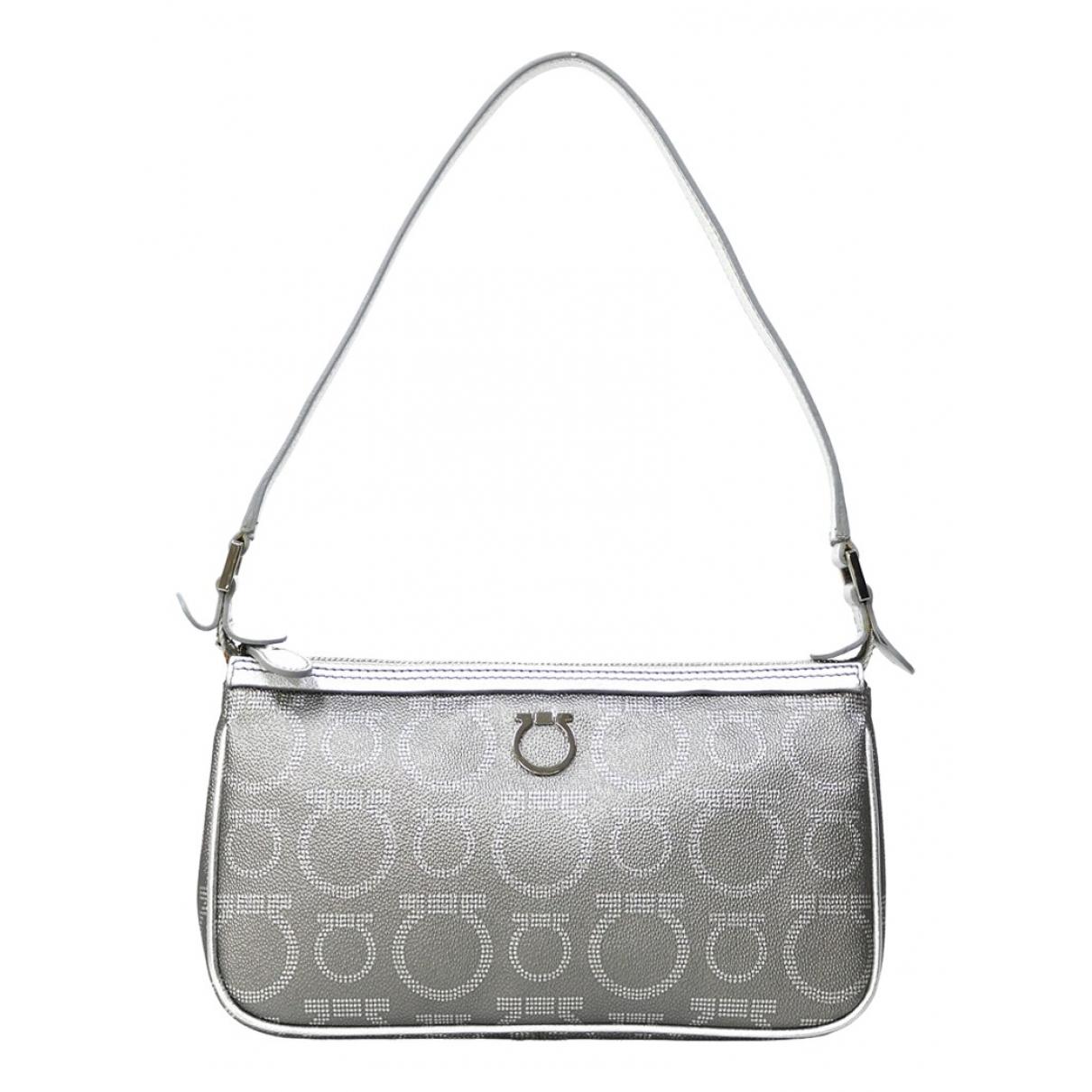 Salvatore Ferragamo \N Grey Cloth handbag for Women \N