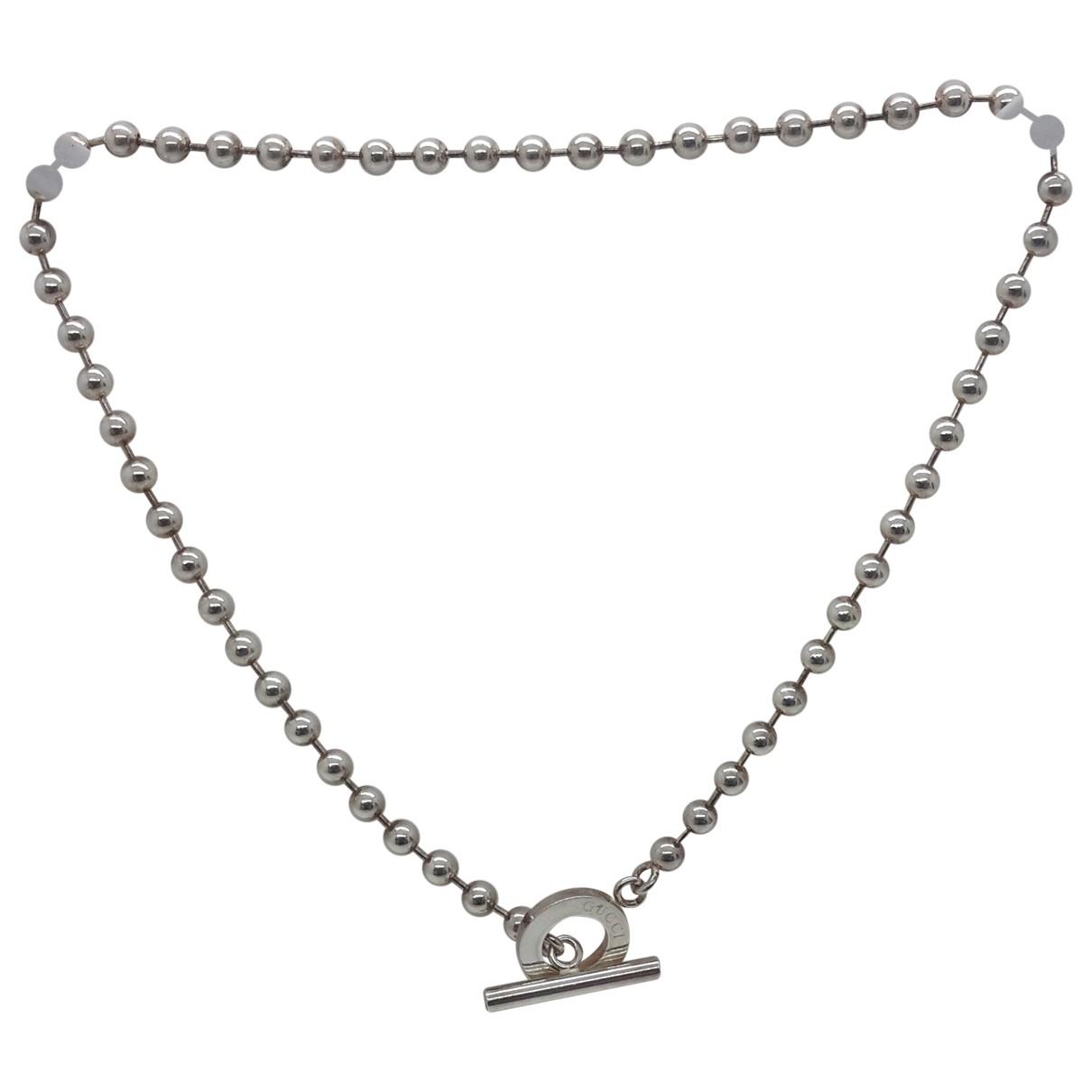 Collar de Plata Gucci