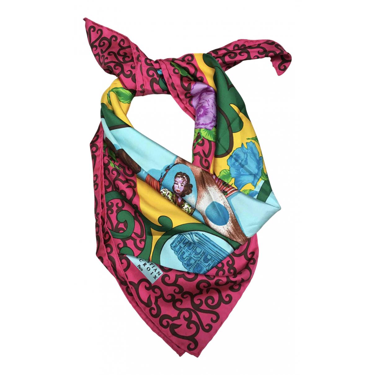 Christian Lacroix - Foulard   pour femme en soie - multicolore