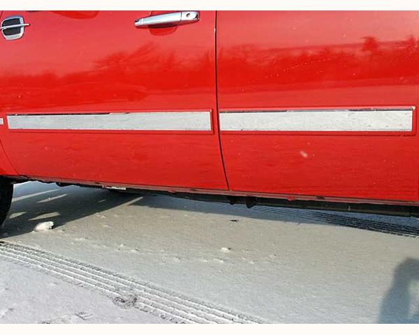Quality Automotive Accessories 4-Piece Rocker Panel Accent Trim Kit Chevrolet Silverado 2500 2007