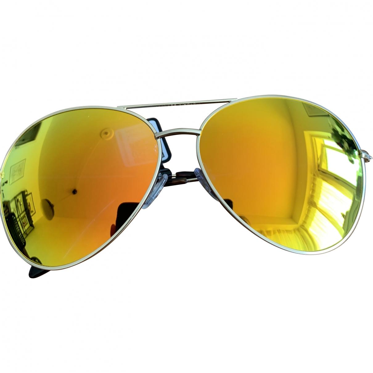 Victoria Beckham \N Orange Metal Sunglasses for Women \N
