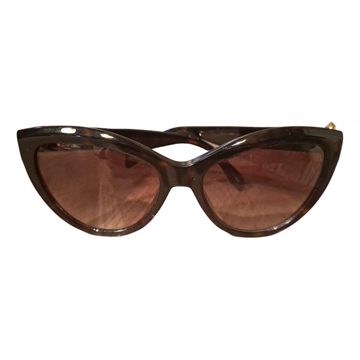 Gafas oversize Alexander Mcqueen