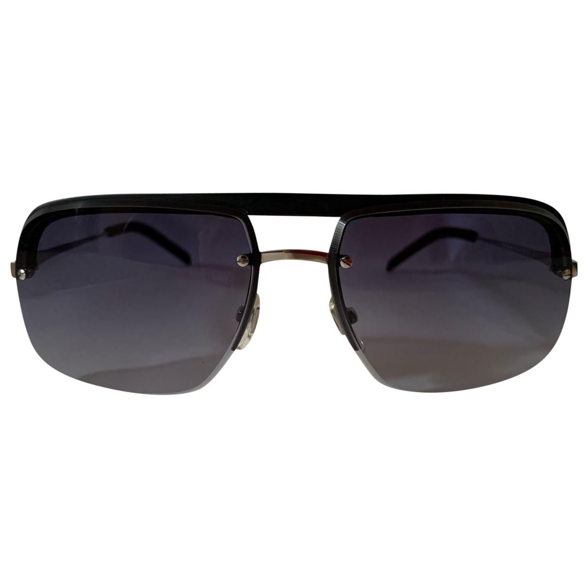 Yves Saint Laurent \N Blue Metal Sunglasses for Men \N