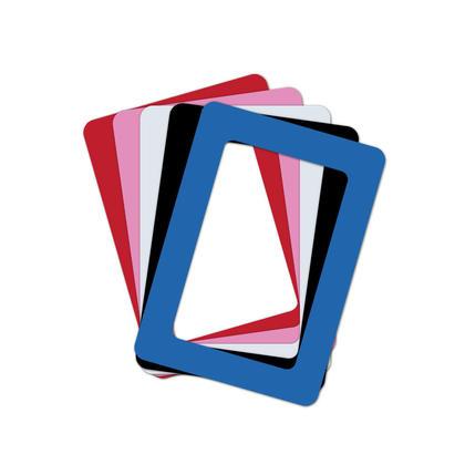 Cadre photo magnétique en PVC - Moustache® - Combo 8