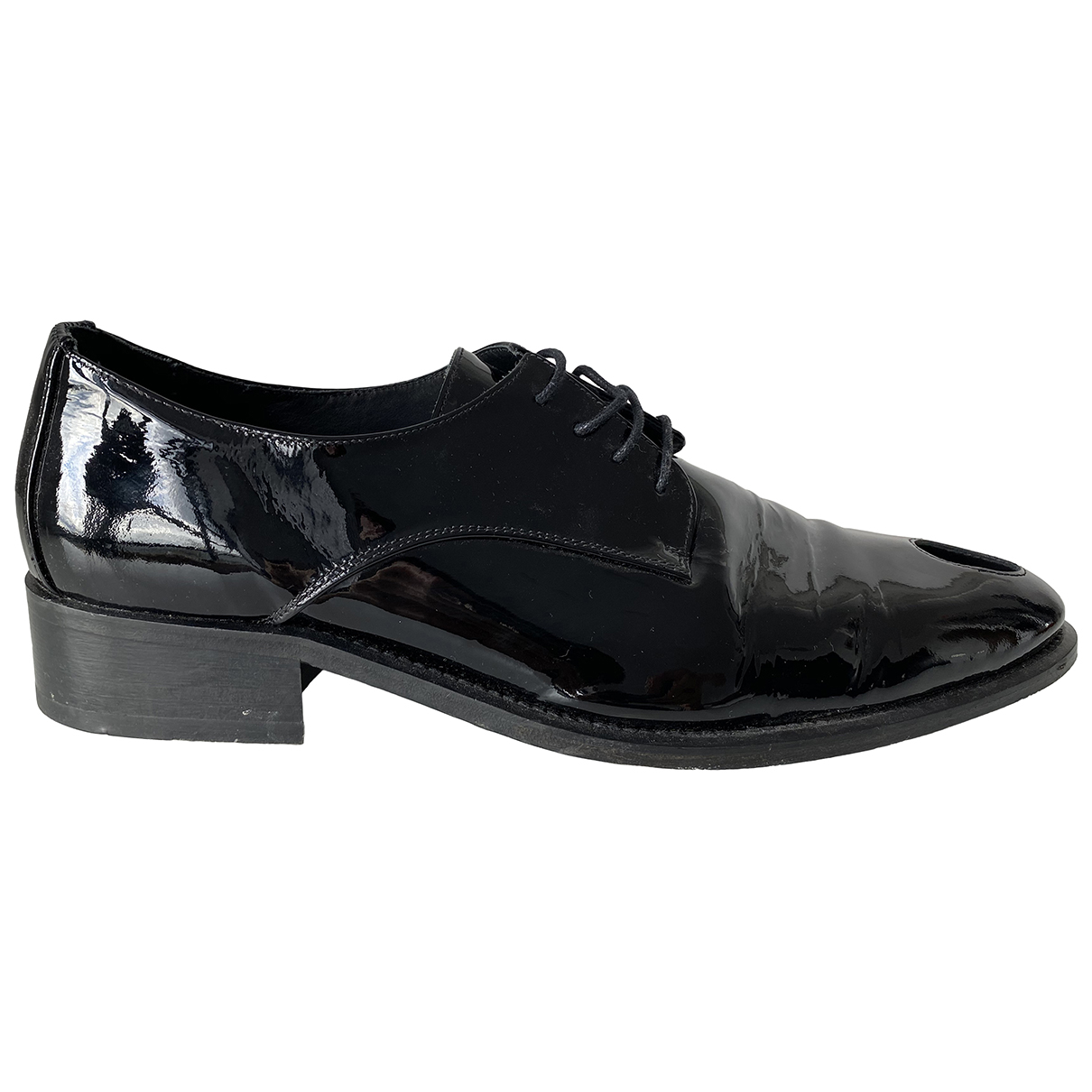 Martine Rose \N Black Patent leather Lace ups for Men 45 EU